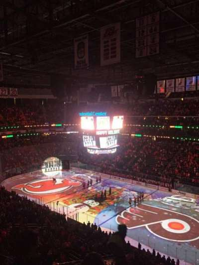 Prudential Center, section: 132, row: 3, seat: 15