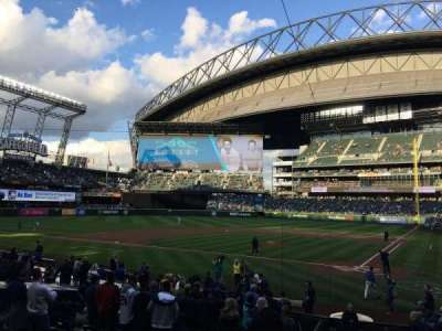 Safeco Field, section: 134, row: 19, seat: 3
