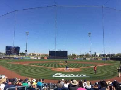 Peoria Sports Complex section 100