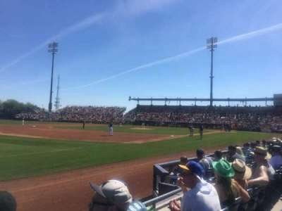 Peoria Sports Complex, section: 119, row: E, seat: 18