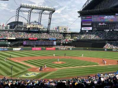 Safeco Field, section: 127, row: 41, seat: 14