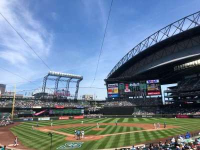 T-Mobile Park, section: 128, row: 26, seat: 11