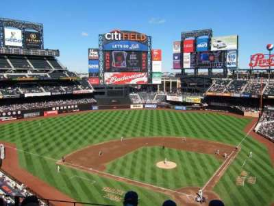 Citi Field, section: 417, row: 4, seat: 7