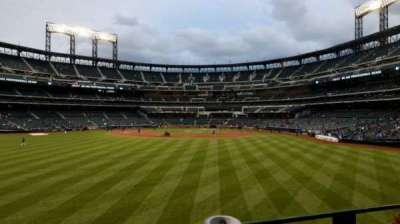 Citi Field, section: 137, row: 1, seat: 10