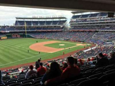 Nationals Park, section: 204, row: P, seat: 10