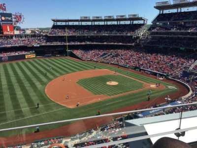 Nationals Park, section: 306, row: B, seat: 19