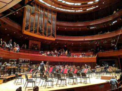 Verizon Hall at the Kimmel Center, section: Orch Box 24, seat: 3