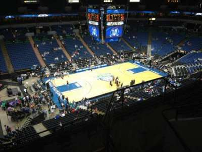 Target Center, section: 214, row: A, seat: 8