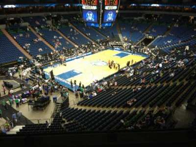 Target Center, section: 217, row: A, seat: 8