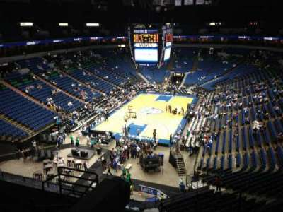 Target Center, section: 220, row: A, seat: 8