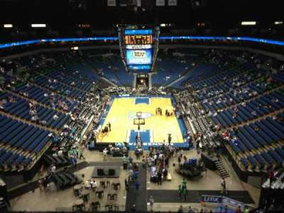Target Center, section: 221, row: A, seat: 9
