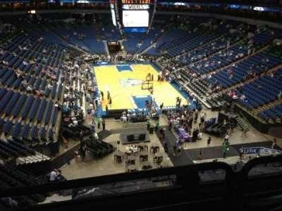 Target Center, section: 222, row: A, seat: 8