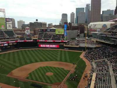 Target Field, section: 316, row: 1, seat: 11