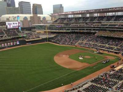 Target Field, section: 326, row: 8, seat: 14
