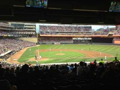 Target Field section 110