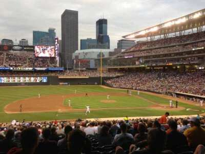 Target Field, section: 120, row: 23, seat: 9