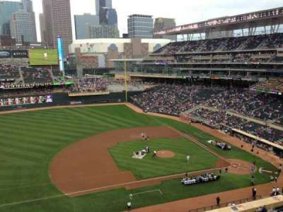 Target Field, section: 222, row: 5, seat: 1