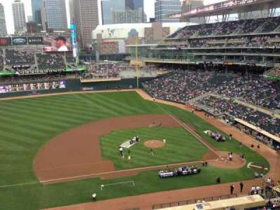 Target Field, section: 221, row: 5, seat: 7