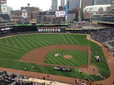 Target Field, section: 219, row: 5, seat: 8