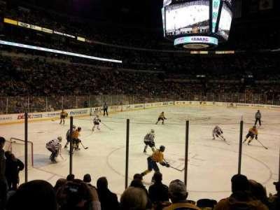 Bridgestone Arena, section: 112, row: Kk, seat: 8