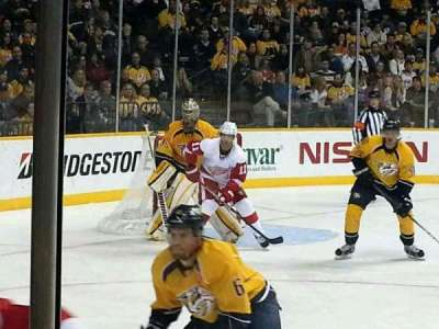 Bridgestone Arena, section: 104, row: cc, seat: 7