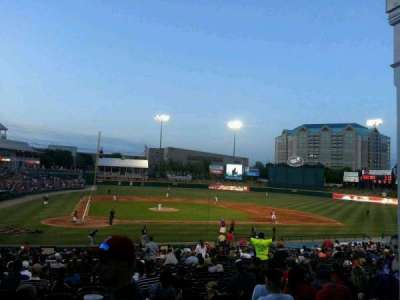 Dr Pepper Ballpark, section: 120, row: 9, seat: 1