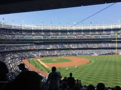 Yankee Stadium, section: 208, row: 19, seat: 22