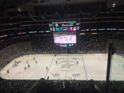 American Airlines Center, section: 309, row: G, seat: 18