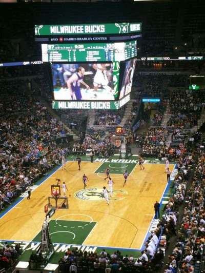 BMO Harris Bradley Center, section: 409, row: M