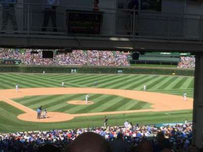 Wrigley Field section Standing Room Only