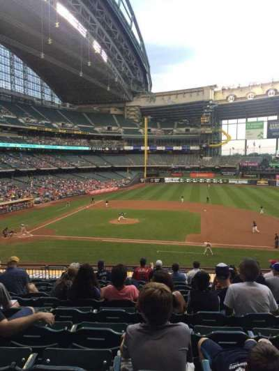 Miller Park, section: 213, row: 11, seat: 15