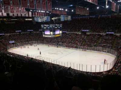 Joe Louis Arena, section: 204a, row: 17, seat: 9