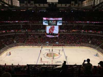 United Center, sección: 318, fila: 11, asiento: 1