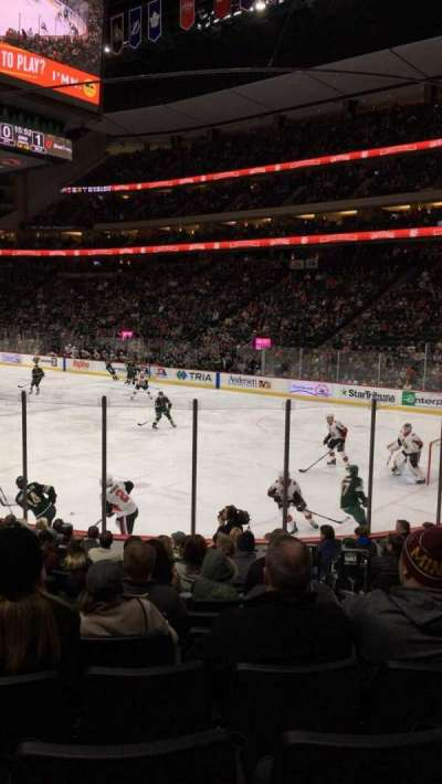 Xcel Energy Center section 126