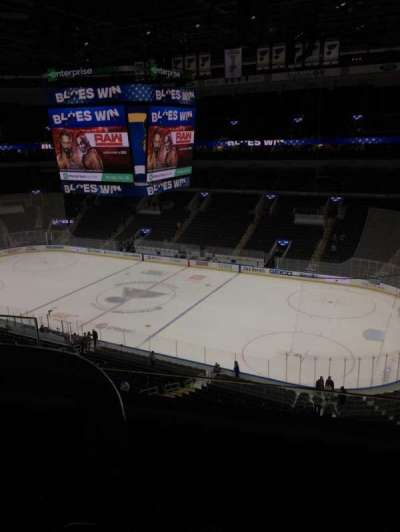 Enterprise Center, section: 317, row: C, seat: 8