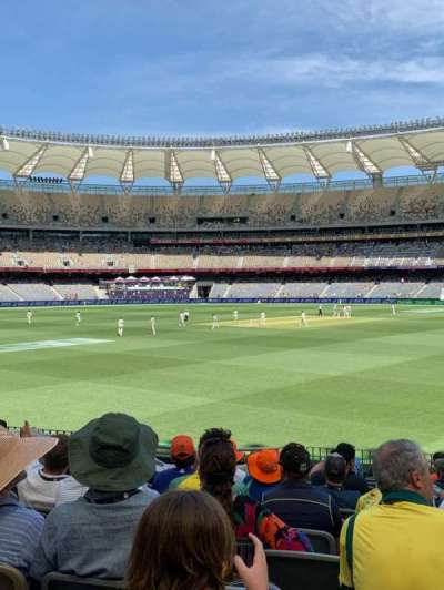Optus Stadium, section: 121, row: 17, seat: 15