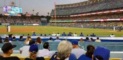 Dodger Stadium section 21FD