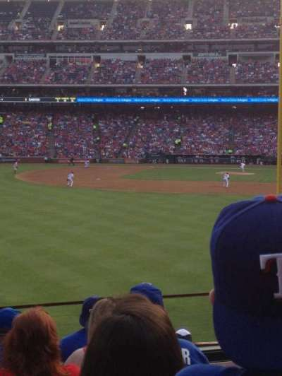 Globe Life Park in Arlington, section: 9, row: 8, seat: 2