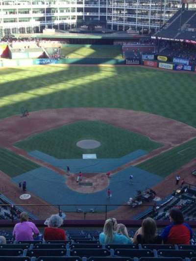 Globe Life Park in Arlington, section: 326, row: 14, seat: 14