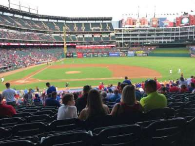 Globe Life Park in Arlington, section: 133, row: 36, seat: 2