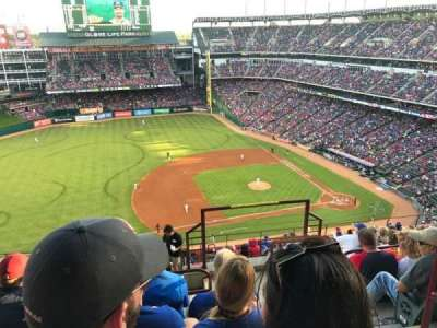 Globe Life Park in Arlington, section: 317, row: 17, seat: 16