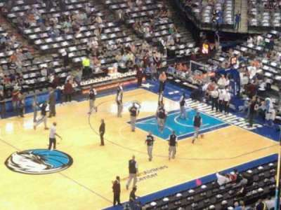 American Airlines Center, section: 328, row: 1