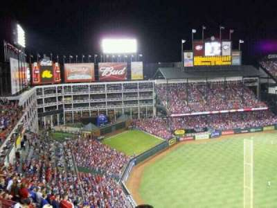 Globe Life Park in Arlington, section: 308