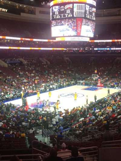 Wells Fargo Center section CC121