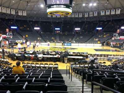 Charles Koch Arena, section: 121, row: 12, seat: 1