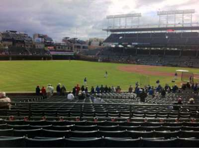 Wrigley Field section 202