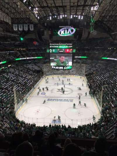 American Airlines Center, section: 301, row: B, seat: 2