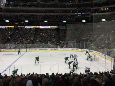 American Airlines Center, section: 117, row: V, seat: 6