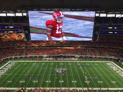 AT&T Stadium, section: 443, row: 5, seat: 16