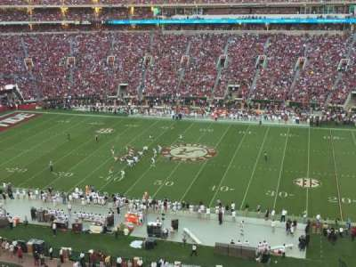 Bryant-Denny Stadium, section: U4-KK, row: 1, seat: 6